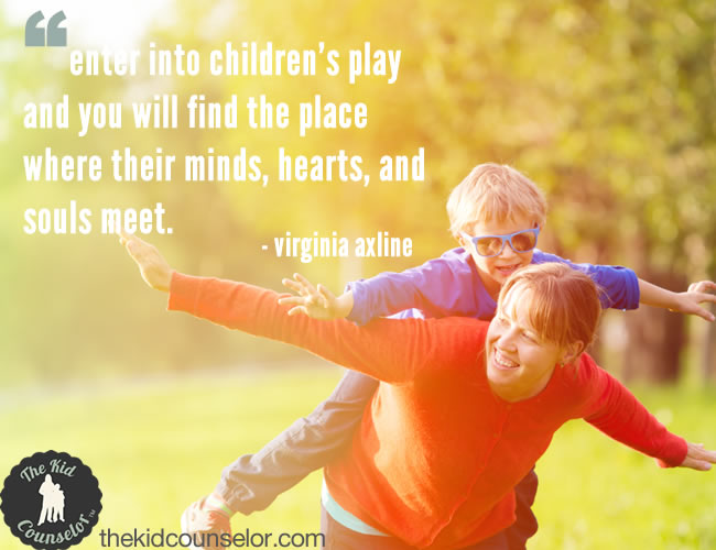 Quotes About Play Fair Play Therapy Quotes Archives  The Kid Counselor®