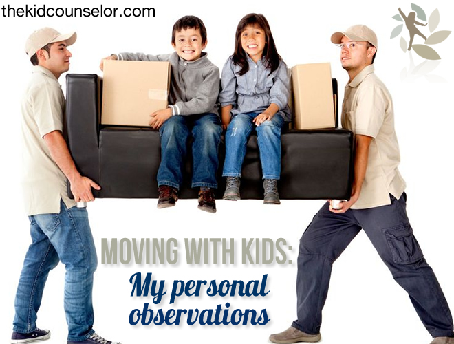 Moving with Kids - My Personal Observations